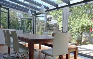 aluminium conservatories